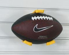GarageTek Racks:  Small Ballholder Football, Soccer, Futbol, American Football, Soccer Ball