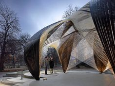 Research Pavilion 2012 by ICD/ITKE | I Like Architecture