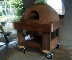 Oven Diy, Brick Bbq, Clay Oven, Bread Oven, Four A Pizza, Wood Fired Oven, Oven Cooking, Garden Design, Backyard