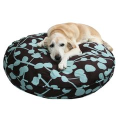 Dog duvet - stuff it with old towels, tee shirts, blankets.  Clever!