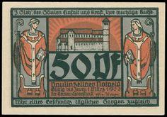 Thuringia: 1. 145 cash notes in five albums, bankfrische condition    Dealer  Schwanke GmbH    Auction  Minimum Bid:  800.00EUR