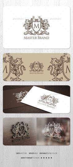 Master Brand Logo Template Vector EPS, AI. Download here: http://graphicriver.net/item/master-brand-logo/14898770?ref=ksioks