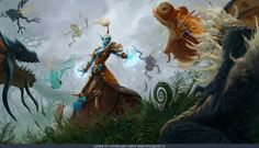 Troll Shaman by Seung Ho Lee » Галерея » World of Warcraft