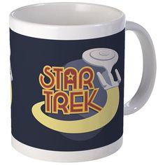 Star Trek Greatest Hits Mugs on CafePress.com #startrek #startrekthenextgeneration #trekkers #trekkies #ussenterprise #galaxyclass