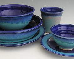 homemade wheel-thrown ceramic dishes (ie. plates, platters, bowls, cups, etc.)