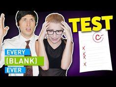 Life is a series of tests - driving tests, school tests, relationship tests, interview tests, and more. But the true test was to click this video. This is Every Test Ever. Relationship Test, Courtney Miller, English Caption, True Test, Smosh, Funny Pranks, Funny People, Funny Kids, Funny Posts