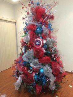 Navidad Capitán América