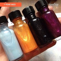 Cinder-crelly (not listed yet! A year later! What??) Veritaserum Levi-o-sah and Polyjuice Potion! #hp #harrypotter #cinderella #disney #itflashback #itfanmix #fandomnails #fandompolish #incidentaltwin #nailpolish #indiepolish #etsy incidentaltwin.etsy.com   via Instagram http://ift.tt/1XoKsG2  IFTTT Instagram