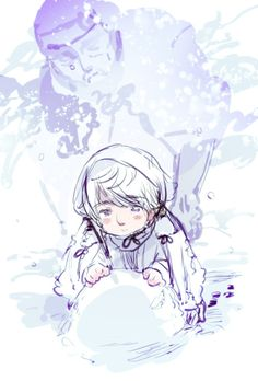 Official art by Hidekaz Himaruya for Axis Powers Hetalia. Ivan, you so cuuuuute! I want to give him a big hug! X3