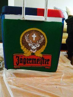 Jäger fraternity cooler design