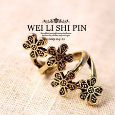 Aliexpress.com : Buy 71003 accessories fashion vintage flower fashion female ring finger ring jewelry from Reliable partner ring suppliers on Jessie's shop. $6.95