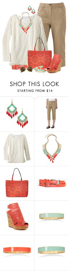 """""""Olivia Plus Size Fashion"""" by dkelley-0711 ❤ liked on Polyvore featuring Blu Bijoux, TravelSmith, Echo, Charles by Charles David, BillyTheTree and plus size clothing"""