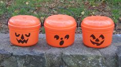 Halloween Pails (1985) | The 25 Greatest Happy Meal Toys Of The '80s. loved collecting these!