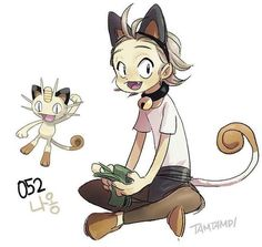 Have you ever wondered how your favorite Pokemon would look like in human form. Check out this super cute Pokemon Gijinka by Tamtamdi and you will find out. Fan Art Pokemon, Pokemon Go, Gijinka Pokemon, Pokemon People, Cute Pokemon, Pokemon In Real Life, Pokemon Fusion, Cosplay Pokemon, Digimon