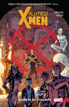 Collects All-New X-Men (2015) #1-6.    More than ever, hatred and fear have made the world a dangerous place for mutants. But as the few remaining X-Men retreat into seclusion, a handful of mutant teenagers refuse to allow their destiny to be decided for them! And no one is more concerned about their fate than Scott Summers, whose young shoulders must bear the heavy weight of the terrible acts committed by his adult counterpart. Cyclops is joined by three of his time-torn teammates — Beast…