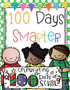First Grade Blue Skies: 100 Days Smarter Pack {FREEBIE}