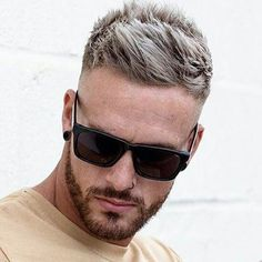 I like this men's hair cut. Mens Hairstyles Fade, Cool Hairstyles For Men, Haircuts For Men, Men's Hairstyles, Medium Hairstyles, Wedding Hairstyles, Short Textured Hair, Textured Haircut, Fade Haircut