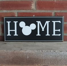 For everyone of us who adore Mickey.a special, handcrafted sign just for you and your home. Mickey Mouse Sayings, Mickey Mouse Crafts, Disney Crafts, Disney Bathroom, Disney Kitchen, Disney Sign, Disney Art, Diy Signs, Home Signs