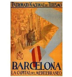 Barcelona vintage-posters