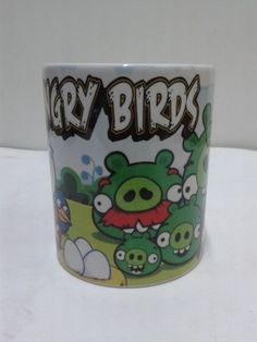 Regala mugs con los Angry Bird.