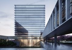 The Bank of Beijing Science and Technology Research and Development Center is a landmark project in Beijing's Shunyi New Town City. The campus integrates an ...