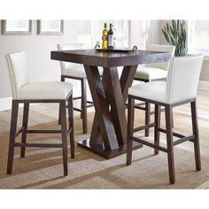 Greyson Living Tisbury 5 Piece Bar Table Set 5pc
