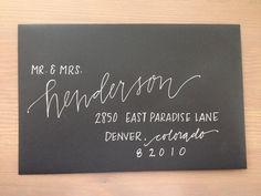 Custom Wedding Calligraphy                                                                                                                                                                                 More