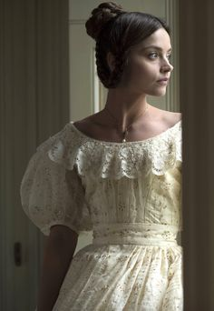Jenna Coleman stars as Queen Victoria in Victoria alongside Rufus Sewell as Prime Minister Lord Melbourne, Tom Hughes as Prince Albert, and Peter Firth as Duke of Cumberland. I loved every moment of the first season. Victoria Bbc, Victoria Tv Show, Victoria 2016, Victoria Series, Reine Victoria, Victoria Costume, Victoria Dress, Queen Victoria Prince Albert, Queen Victoria