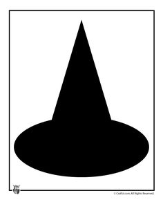 1000 images about templates on pinterest fish template for Paper witch hat template