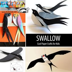 swallow kids crafts