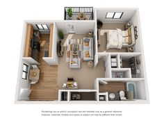 The Springs Apartments Indianapolis Indiana - Apartment interior decoration Dorm Design, 3d Home Design, Sims House Design, Apartment Layout, Apartment Interior, Apartment Living, Rent Apartment, Apartment Entryway, Studio Floor Plans
