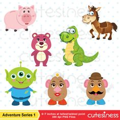Little Toy Digital Clipart Toy Clipart Toy Clip Art Cowboy