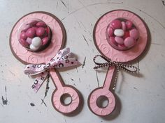 Baby Rattle Favors
