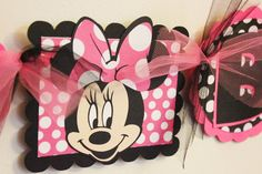Cosas con Minie Fun Diy Crafts fun diy crafts with things around the house Minnie Birthday, Happy Birthday Banners, 2nd Birthday Parties, Birthday Party Decorations, Birthday Ideas, 4th Birthday, Mickey Mouse Pinata, Minnie Mouse Clubhouse, Mickey Minnie Mouse