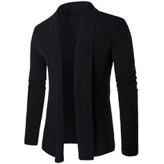 $12.43 Slim Shawl Collar Long Cardigan