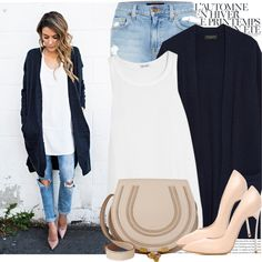 A fashion look from October 2015 featuring rag & bone cardigans, Splendid tops and Genetic Denim jeans. Browse and shop related looks.