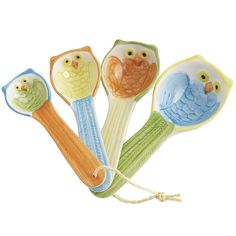 Owl Measuring Spoon Set