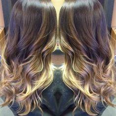 Ecaille Tortoise Hair Color/Brown to blonde Balayage- Hair by Linda Bang