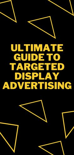 Targeted display advertising is simply a way of controlling where your ads are displayed on Google display network which gives the advertiser the opportunity to have better control over their targeting options during display campaigns. . . . #Advertising #DisplayAdvertising