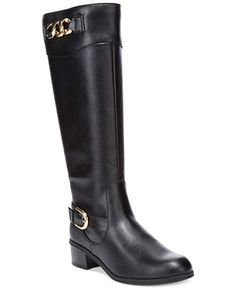 Karen Scott Darlaa Tall Riding Boots - Sale & Clearance - Shoes - Macy's