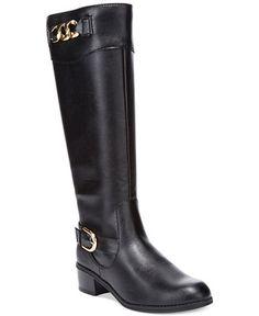 Karen Scott Darlaa Tall Riding Boots - Sale & Clearance - Shoes - Macy's