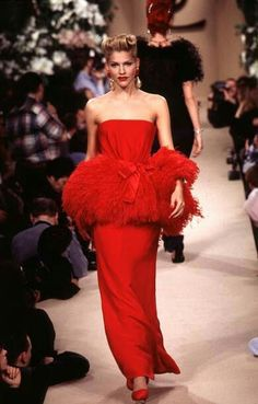 Yves Saint Laurent - Haute Couture - Runway Collection - WomenSpring / Summer 1996