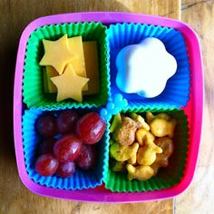 cute kid lunch idea patty papers in lunchbox