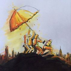 Umbrella revolution The Flags of our Fathers