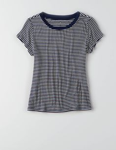 AEO Tomgirl T-Shirt , Navy | American Eagle Outfitters