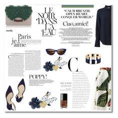 """""""""""A purpose of human life, no matter who is controlling it, is to love whoever is around to be loved."""""""" by nina-lala on Polyvore featuring moda, Vivienne Westwood Anglomania, Paul Andrew, Chloé, Charlotte Olympia, Yves Saint Laurent, Corinne McCormack i Lele Sadoughi"""