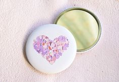 #mirror #heart #accessory #lilac #pink #mauve #verapaperlab #love