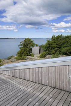 Situated in the island of Naantali, Finland, Villa Mecklin, consisting of the house and standing nearby sauna, is designed by Huttunen-Lipasti Architects. Coastal Industrial, Modern Coastal, Coastal Farmhouse, Coastal Cottage, Coastal Homes, Coastal Style, Coastal Decor, Coastal Curtains, Coastal Bedding