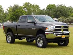Cool Ram car 2017 - Lifted 2014 Ram 2500 ready for a little fun in the mud. Jacked Up Trucks, Ram Trucks, Dodge Trucks, Diesel Trucks, Cool Trucks, Pickup Trucks, Dodge Ram Crew Cab, Dodge Ram Diesel, Dodge Cummins