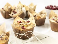 All-Bran™ Cranberry Lemon Coconut Bran Muffins Recipe - This flavour combination might just become something you dream about. #AllBran #Recipe #Cranberry #Lemon #Coconut #Muffin #Fibre